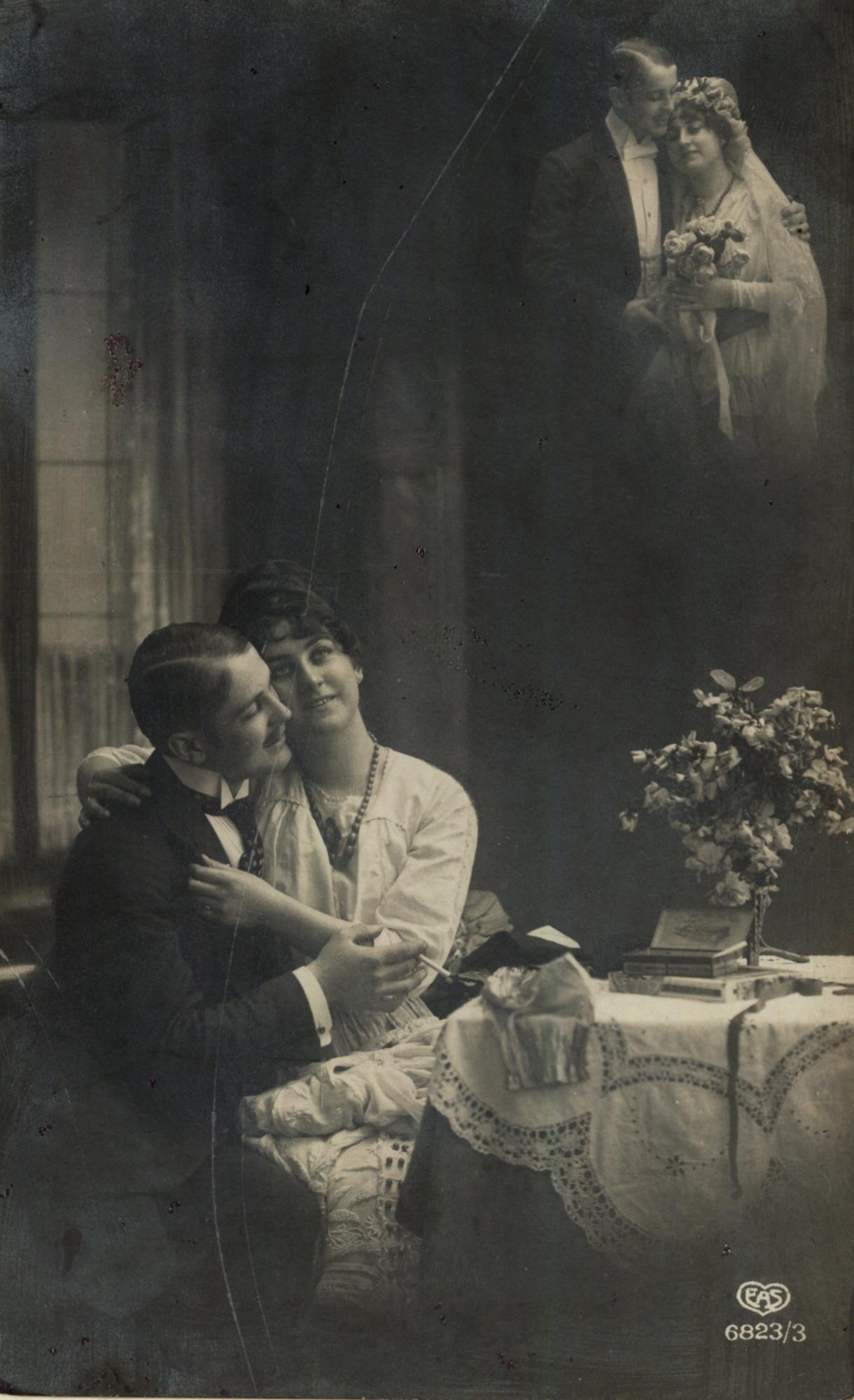 Fotografia ślubna Z Dwudziestolecia Międzywojennego